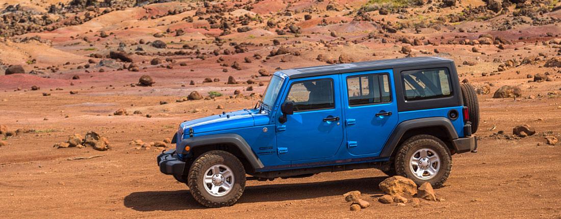 Lanai Jeep Rental